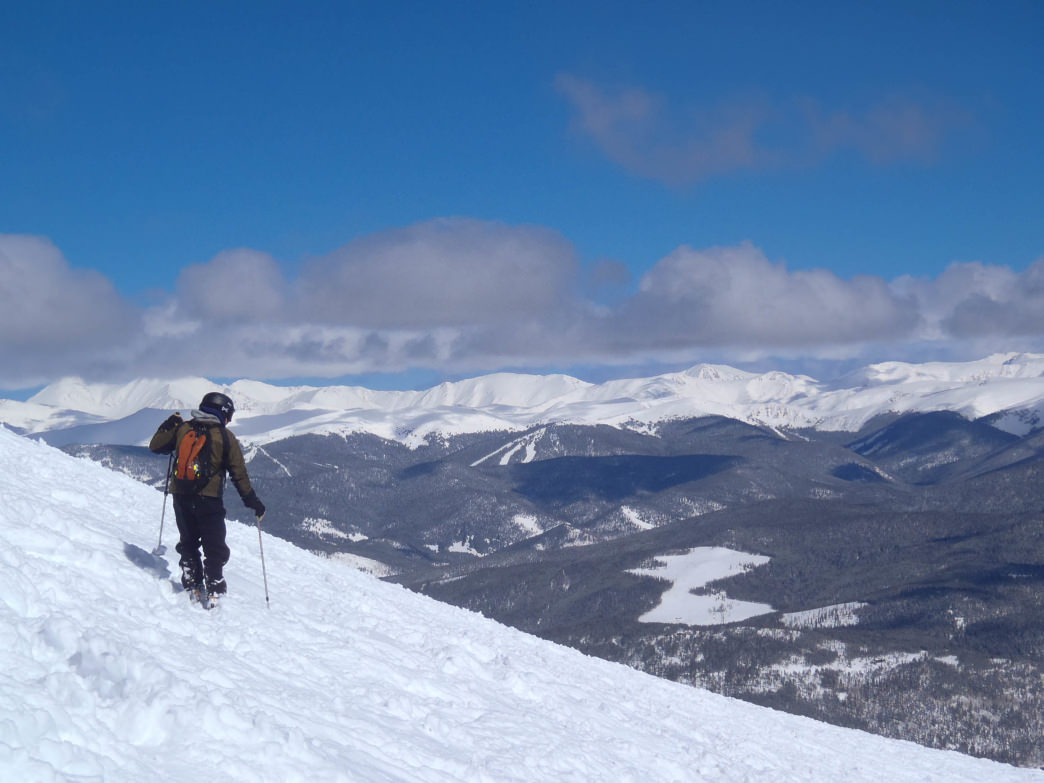 Take a breather and take in the views at Breck.