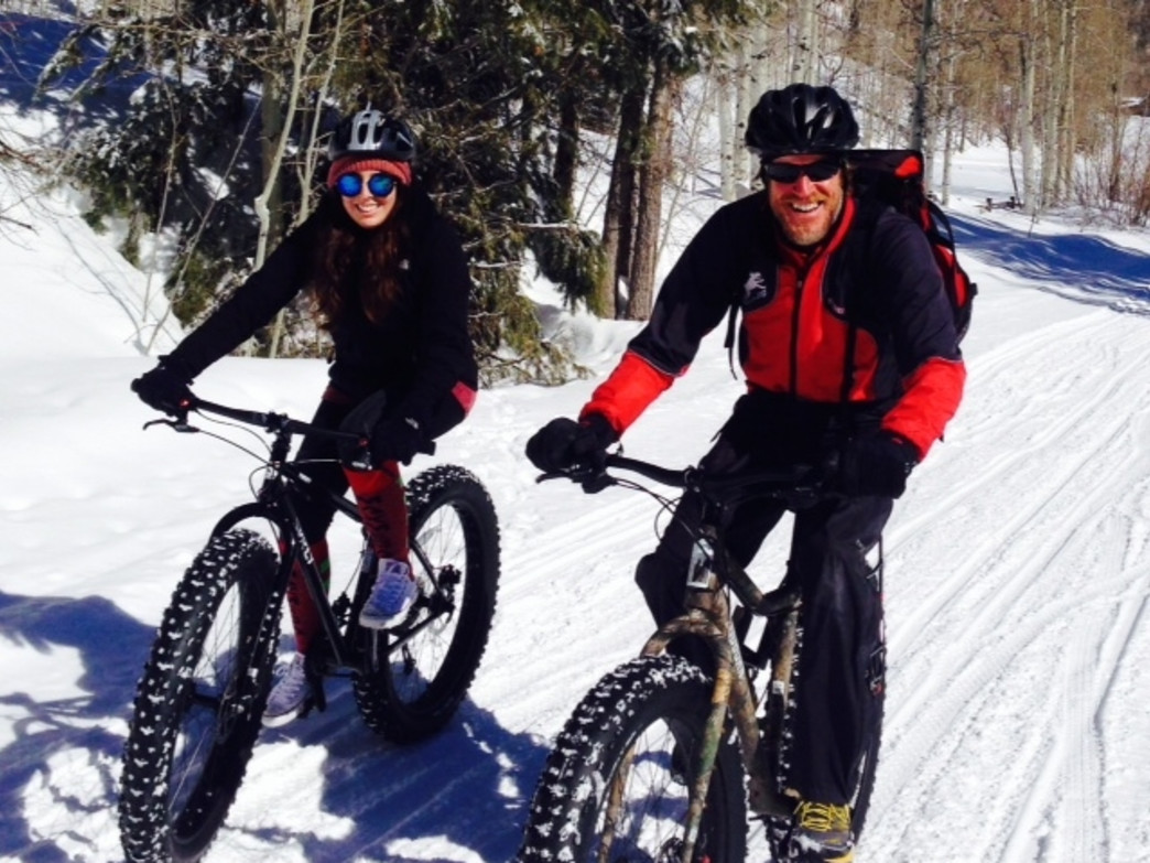 Fat biking, the fastest-growing segment in the cycling industry, according to Skarvan, is a hit with both Sun Dog Athletics' clients and staff.