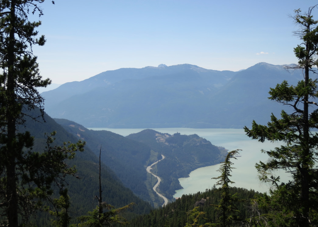 The Sea-to-Sky Highway has incredible viewpoints around every turn.