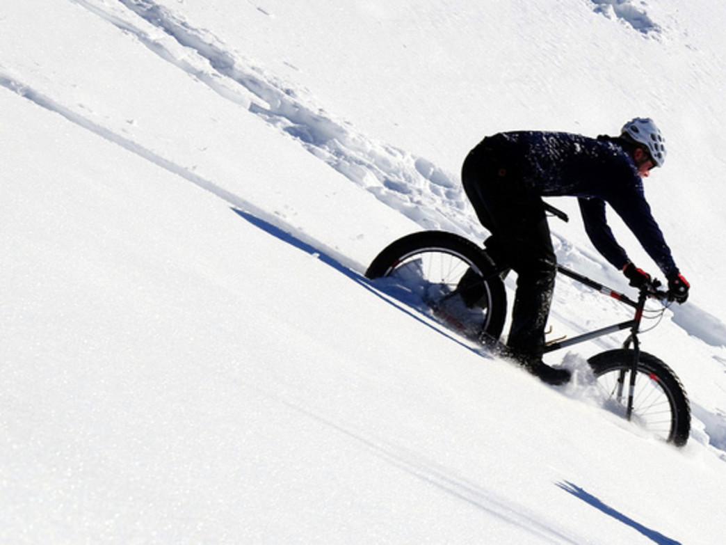 You can find mellow or extreme fat bike adventures in Jackson.