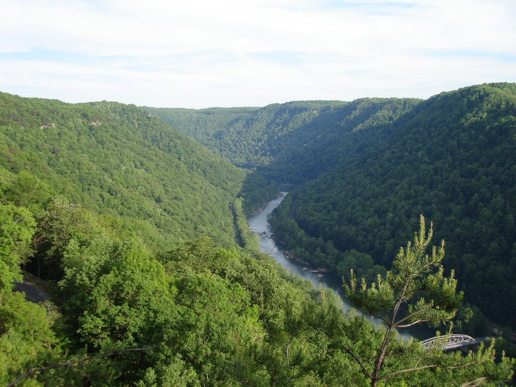 The New River Gorge is home to an abundance of trails for running and biking.