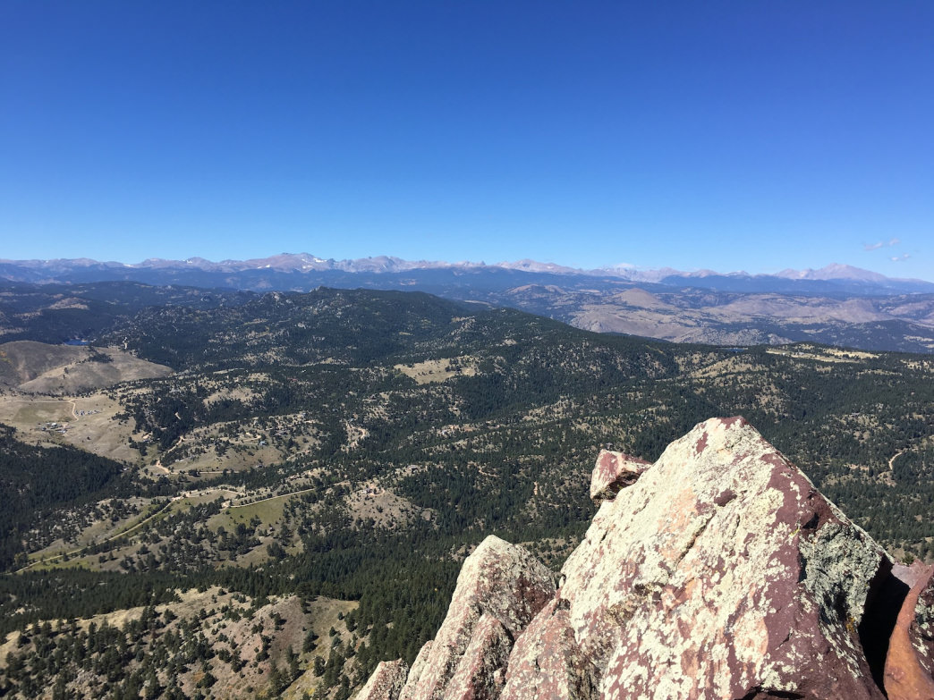 Bask in your sweet success from the top of South Boulder Peak.