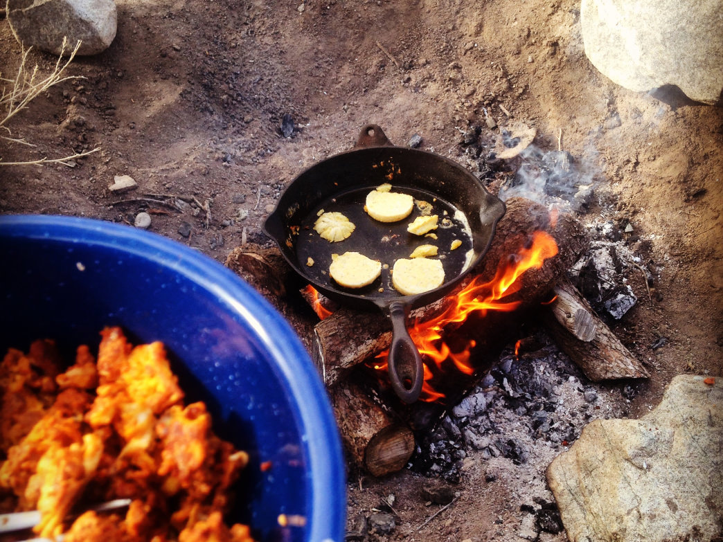 It's easier than you think to make a gourmet meal while camping.
