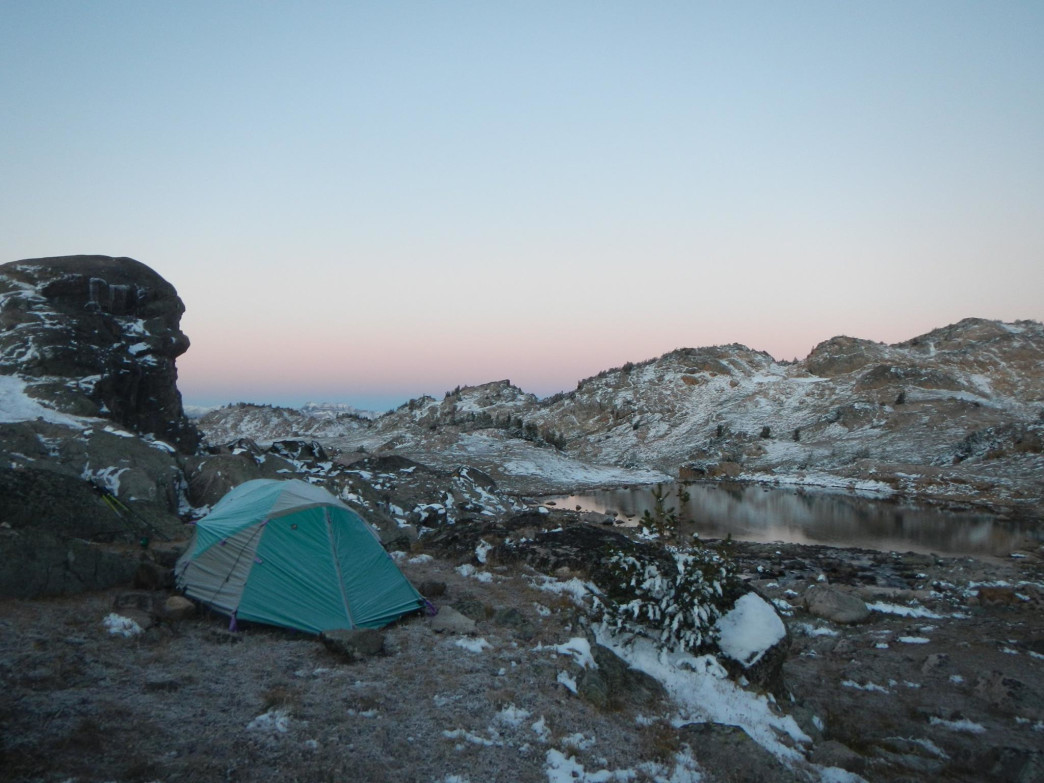 Winter camping opens up new worlds of exploration.