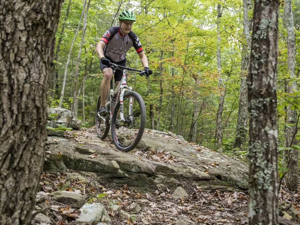Chattanooga's no slouch when it comes to rocky, technical trails that test both skills and suspension.