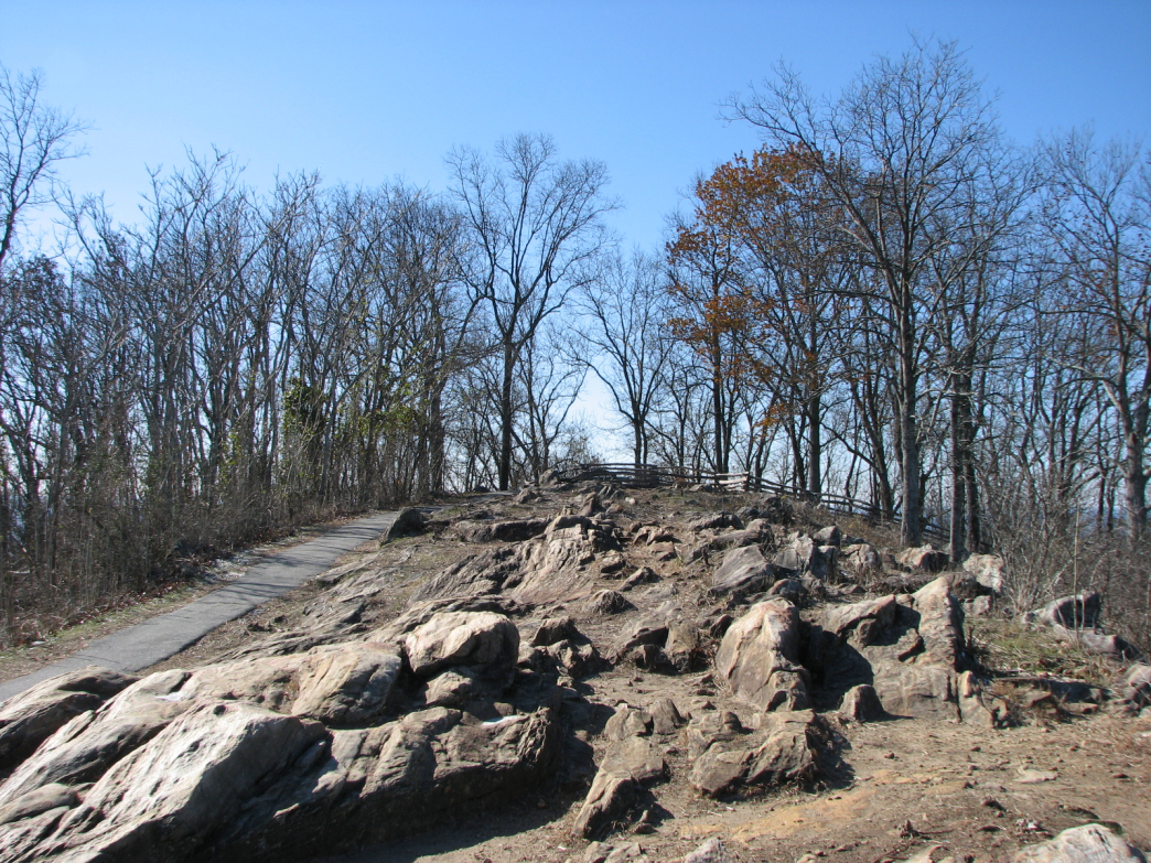 The Pigeon Loop on Kennesaw Mountain is a steep haul up, but well worth the views from the top.