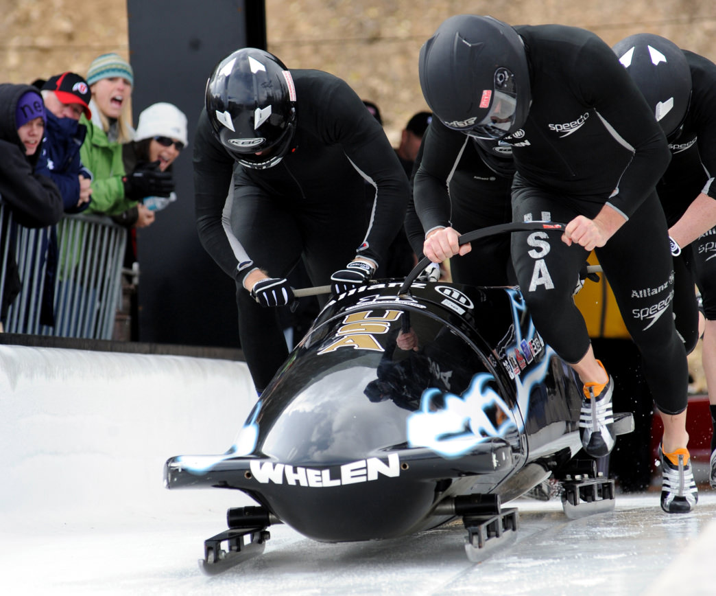 Utah Olympic Park hosts both training and competitions in the bobsled, luge, skeleton, and ski jumping.