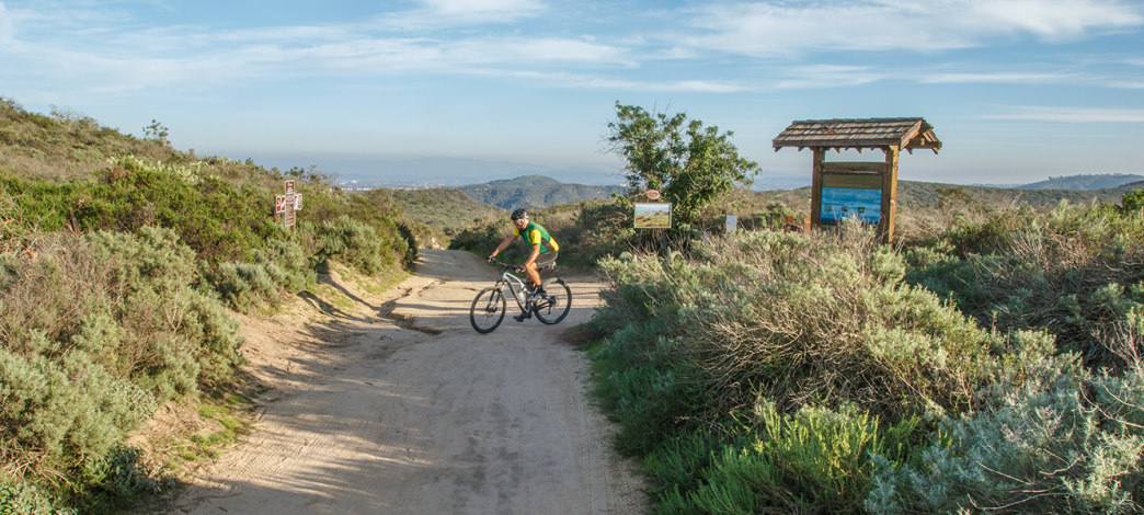 The views at Portuguese Bend Reserve are breathtaking, but don't get distracted: the descents are steep and technical.