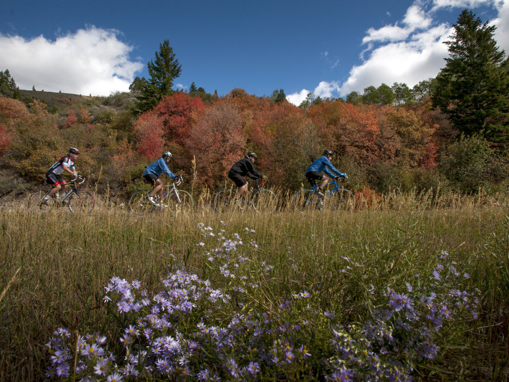 Exploring on rest days during the Cycle Greater Yellowstone ride is a great way to learn about all the opportunities the region has to offer.