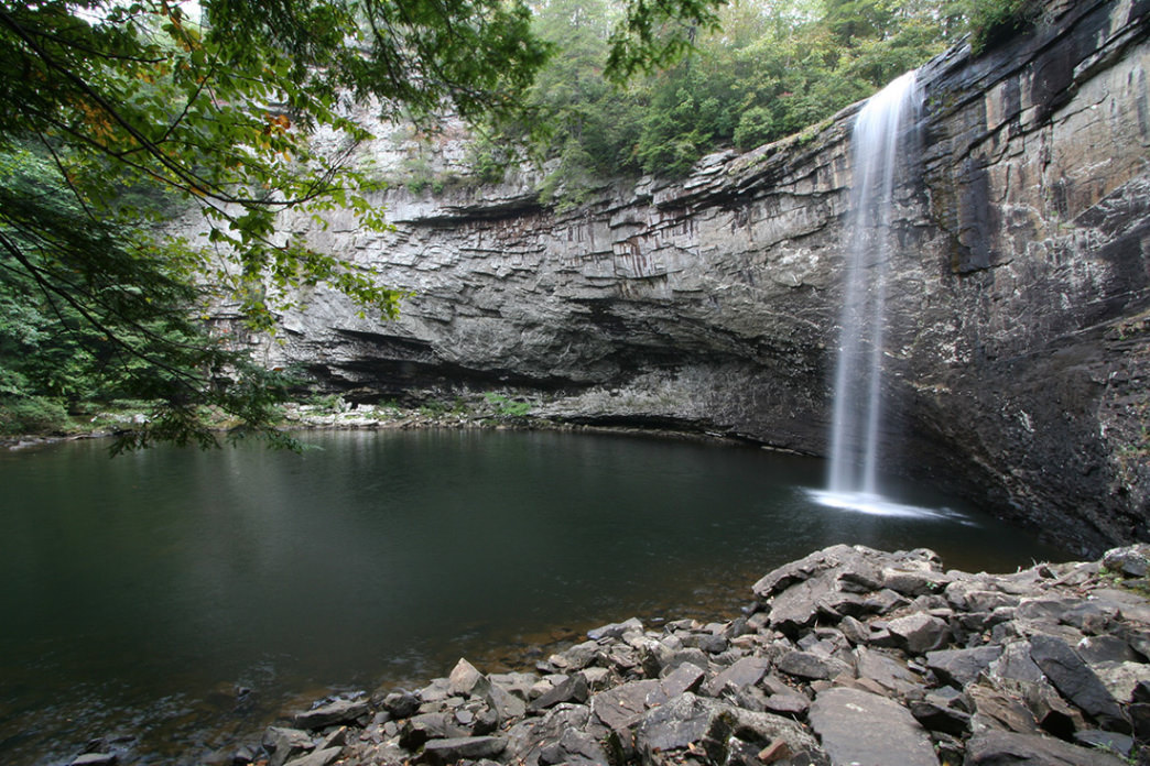 Foster Falls, Tracy City, Tennessee.