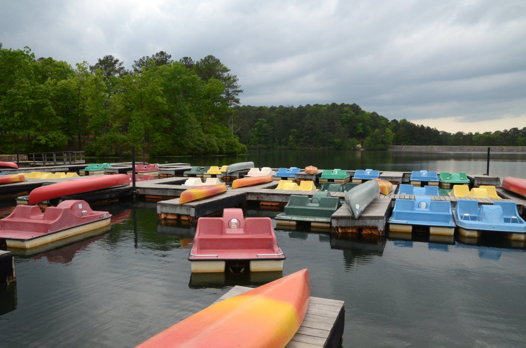 Oak Mountain State Park offers a variety of boat rentals to suit whatever style of paddling you would like to try.