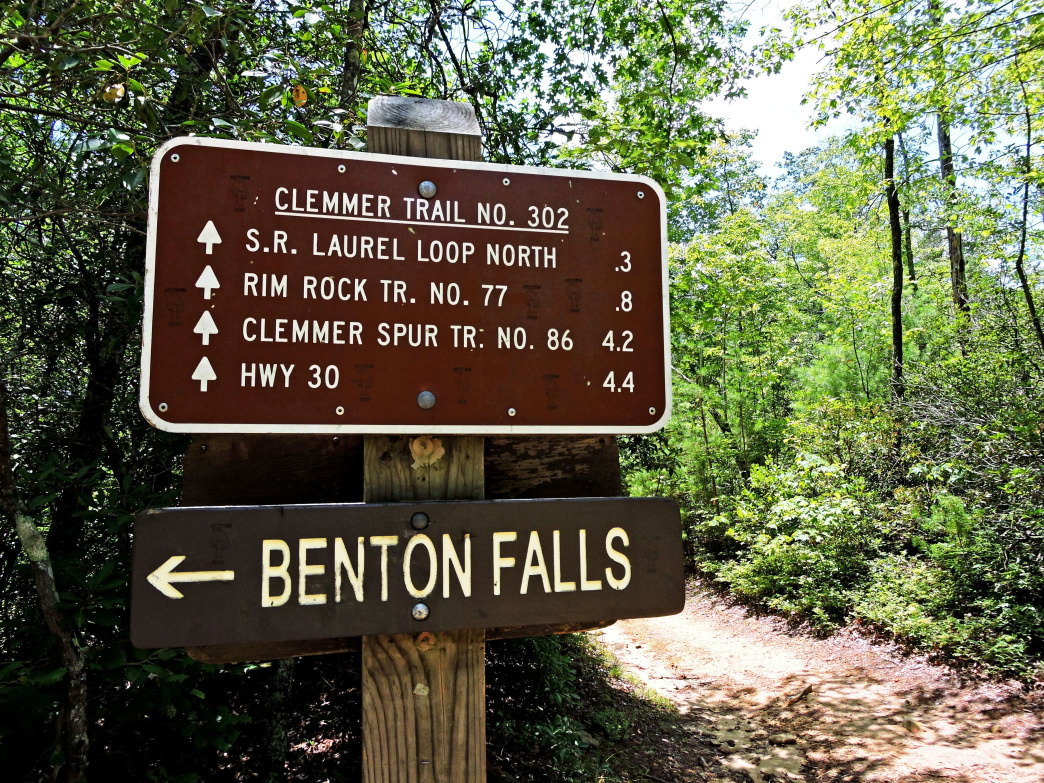 Cherokee National Forest—Benton Falls - Hiking