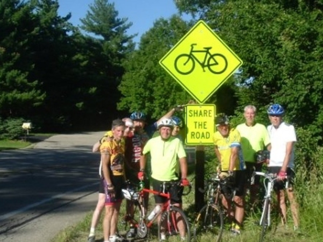 The Starved Rock Cycling Club organizes the Pumpkin Pie Ride near Ottawa, Ill.