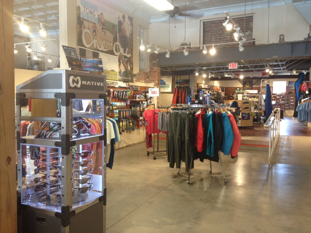 The Walkabout Outfitter in Richmond caters to outdoor enthusiasts.