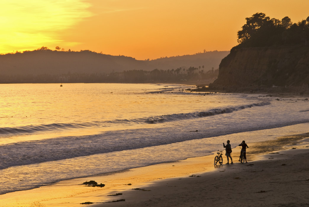 Beachgoers have lots to choose from in Santa Barbara.