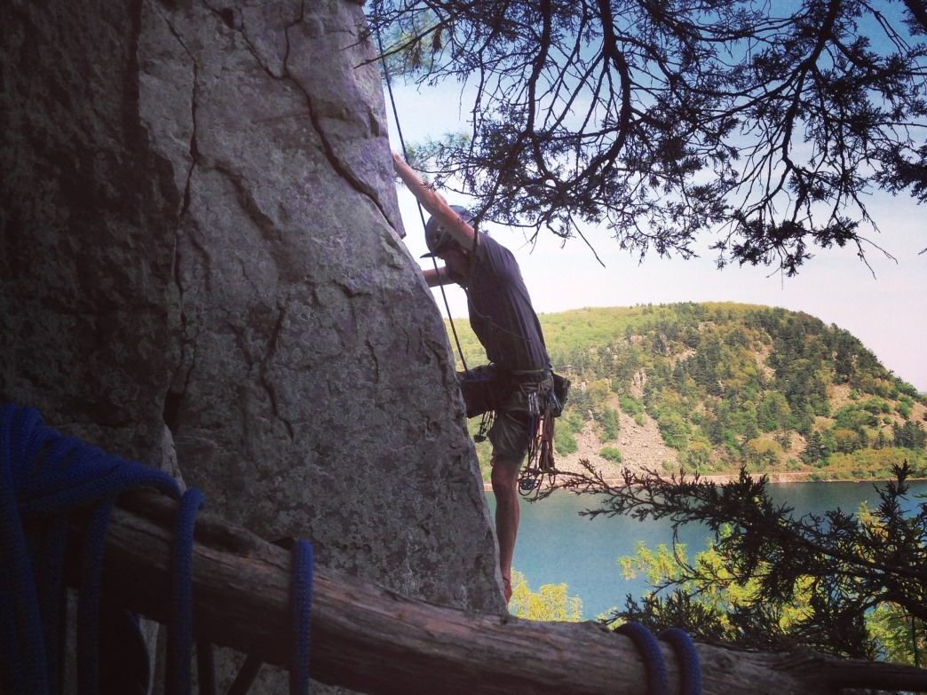 Devils Lake- the toughest crag you've never heard of- is less than an hour from Madison.