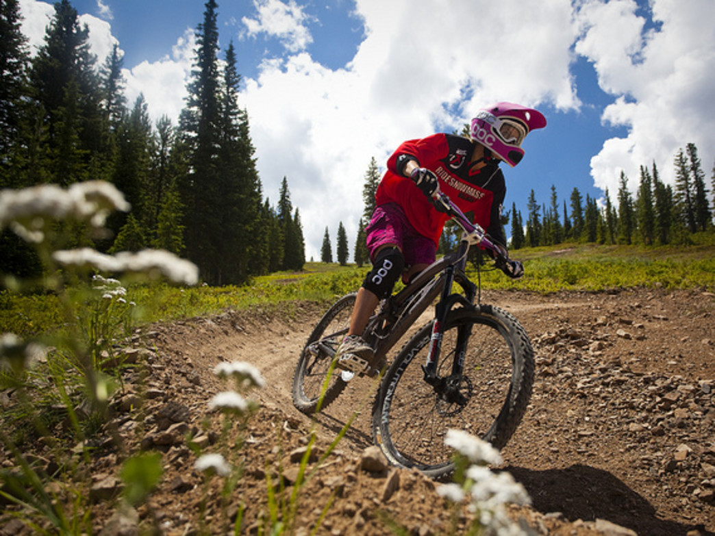 First-timers to expert bikers in your brood can enjoy lift-served trails at Snowmass Bike Park.