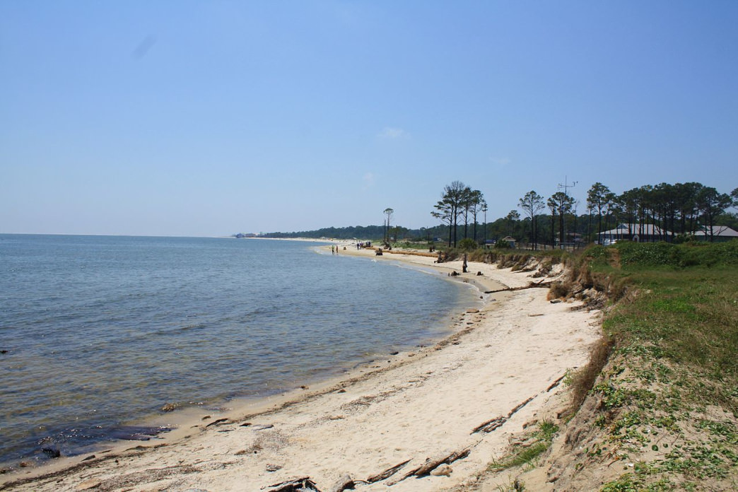Dauphin Island offers secluded beaches and pristine views of the Gulf of Mexico.
