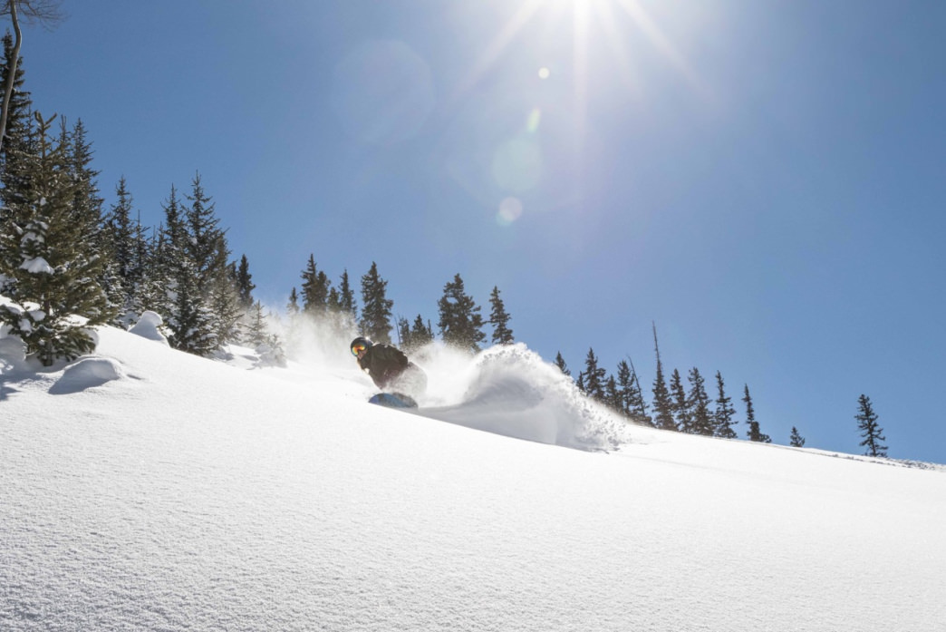 Less than an hour after getting in your rental car, you can be snowboarding.     Brandon Ott