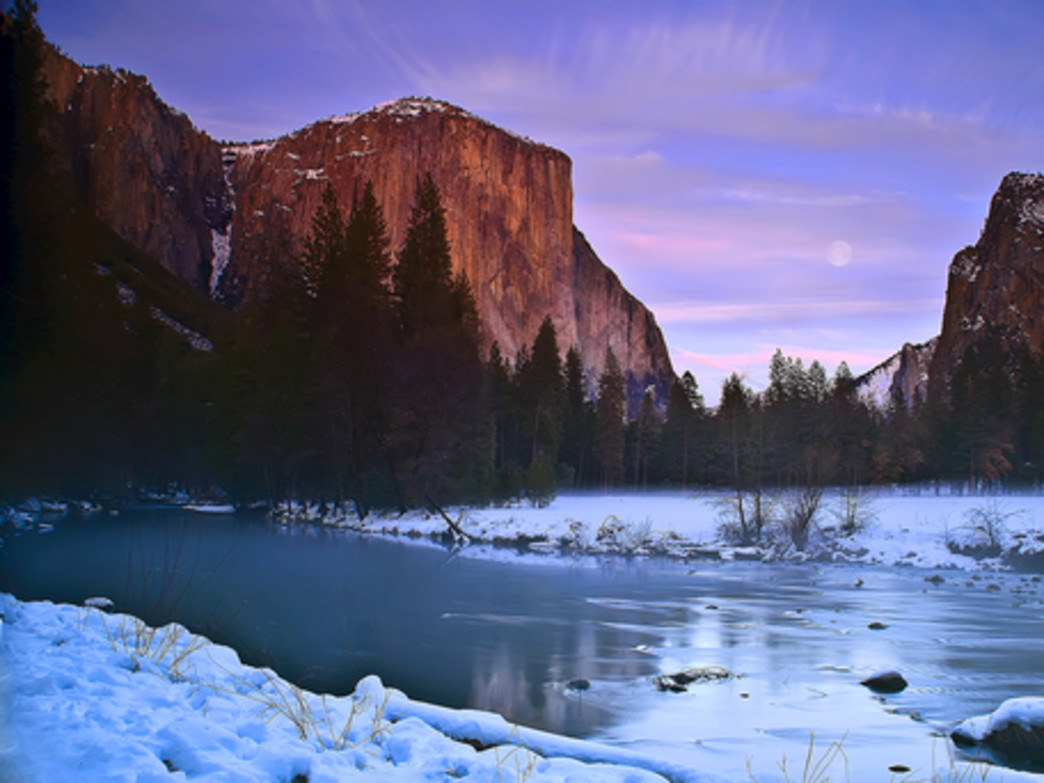 Yosemite is full of wonders in the winter.