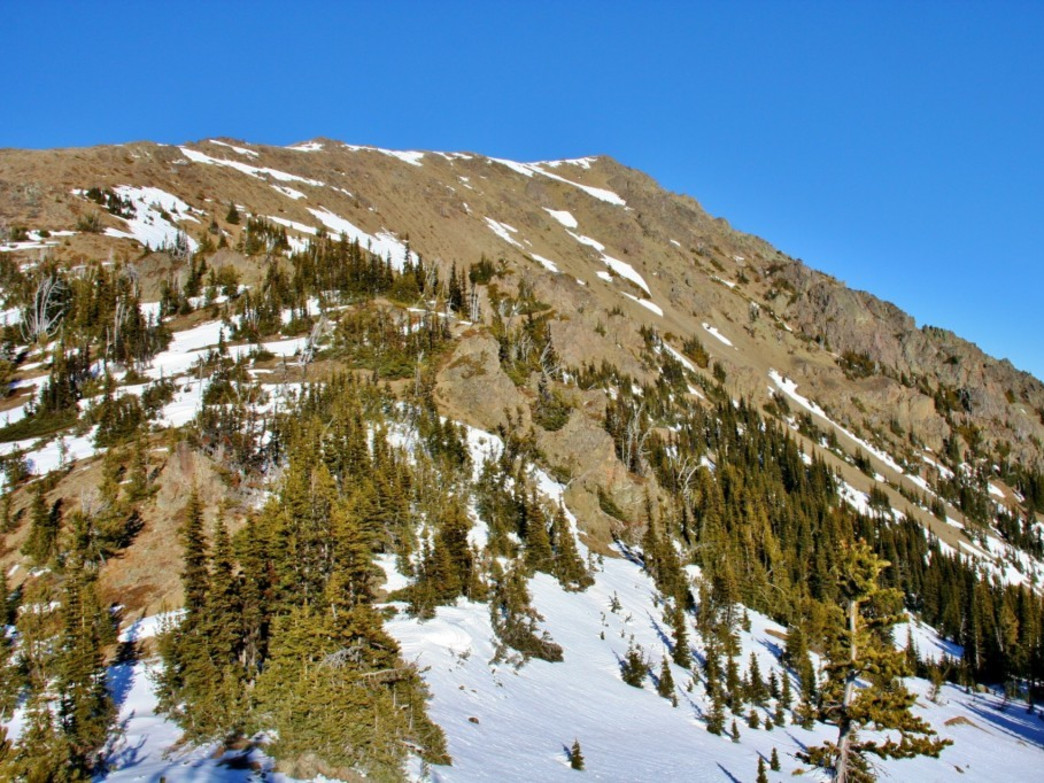 Buckhorn Mountain from Marmot Pass