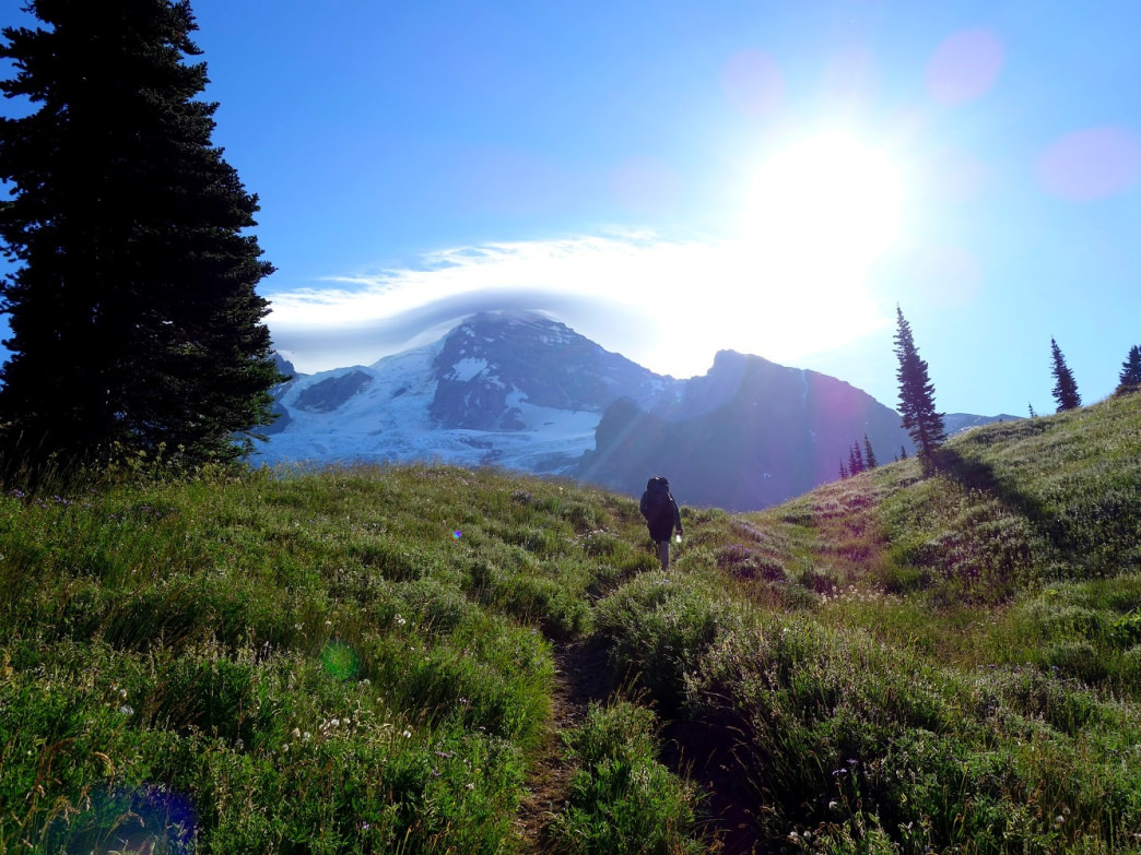 Encircling Mount Rainier for 93-miles, the Wonderland Trail is worthy of any backpacker's bucket list