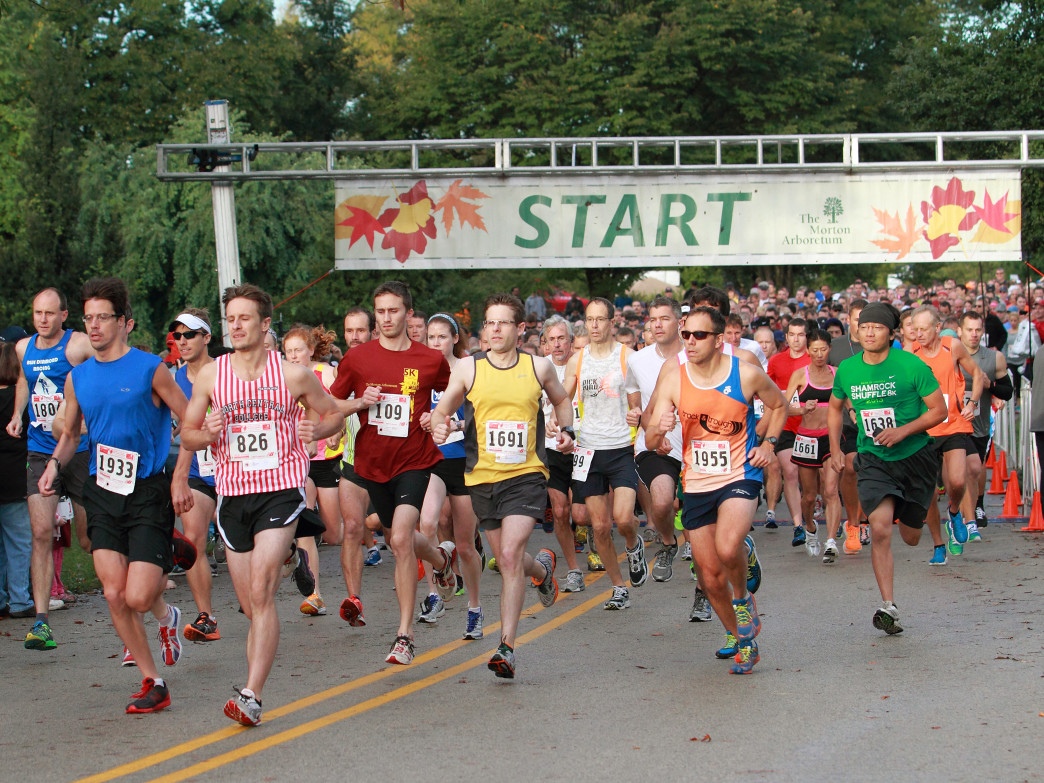 The Fall Color 5K is a great way to explore the arboretum for the first time.