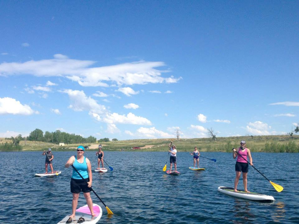 Paddle Like a Girl runs through the end of July.