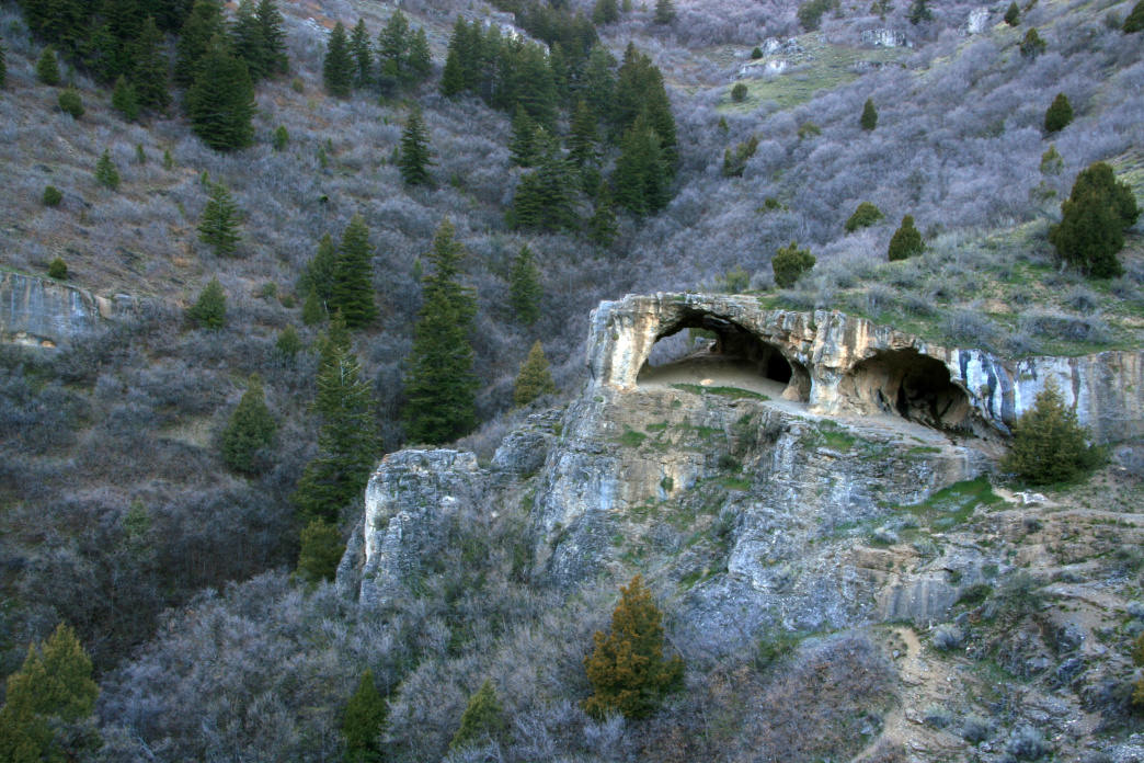 The Wind Caves are one the top hiking destinations in Logan Canyon.