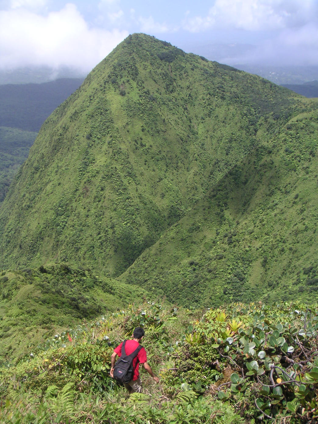 Hiking in Martinique is exciting and adventurous thanks to the mountainous countryside.
