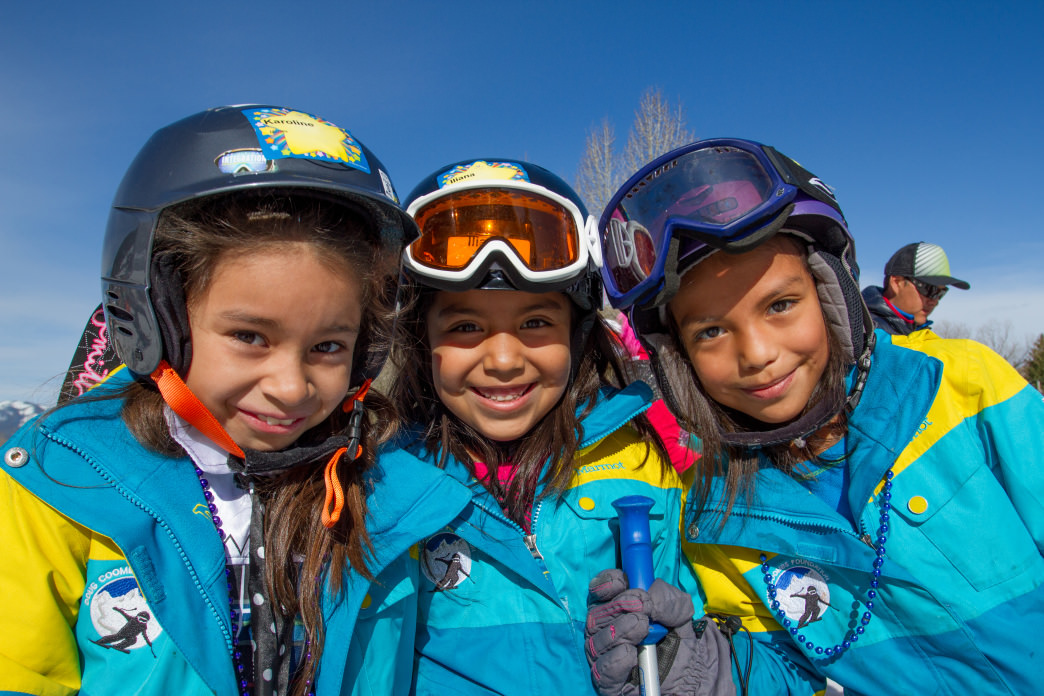 The Coombs Foundation is inspiring a new generation of ski enthusiasts. Photo courtesy of The Doug Coombs Foundation