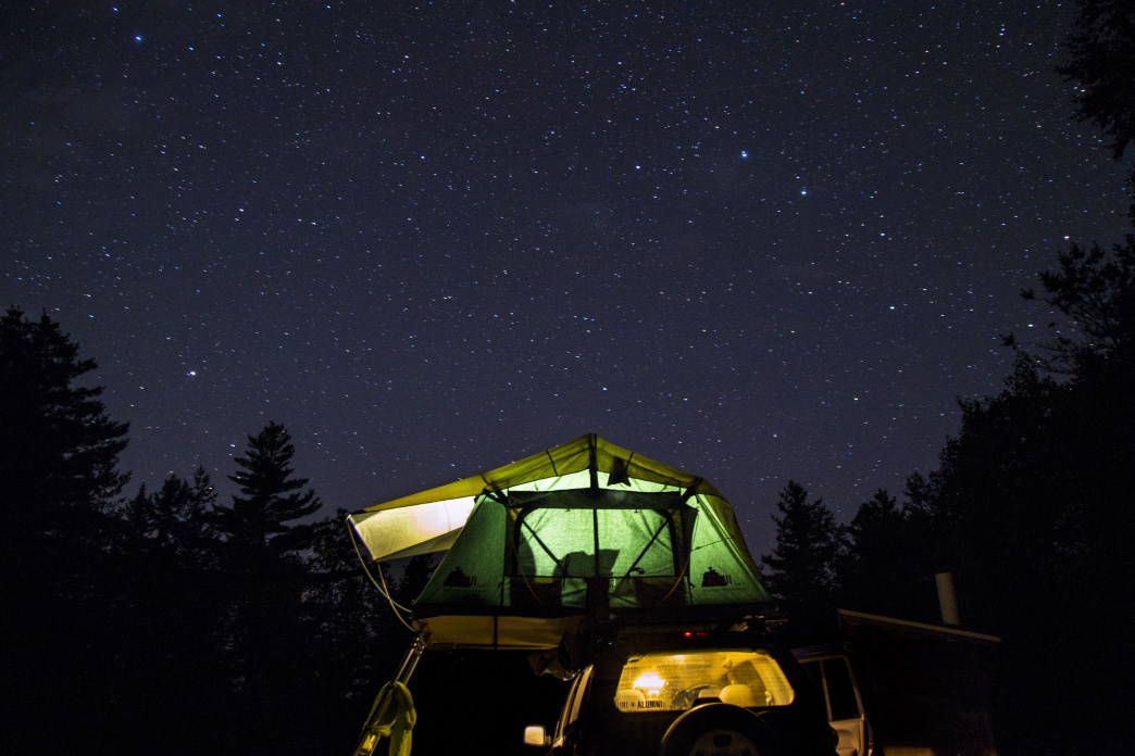 There are tons are dispersed camping sites around the United States, with a high concentration out West.     Lauren Danilek