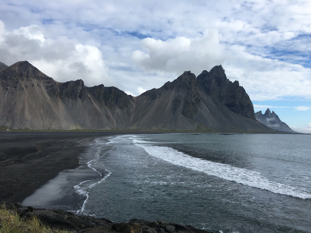 Without a plan, you might blow right past the Stokksnes Cape in East Iceland and miss out on a stroll across a deserted black-sand beach fit for a movie set.