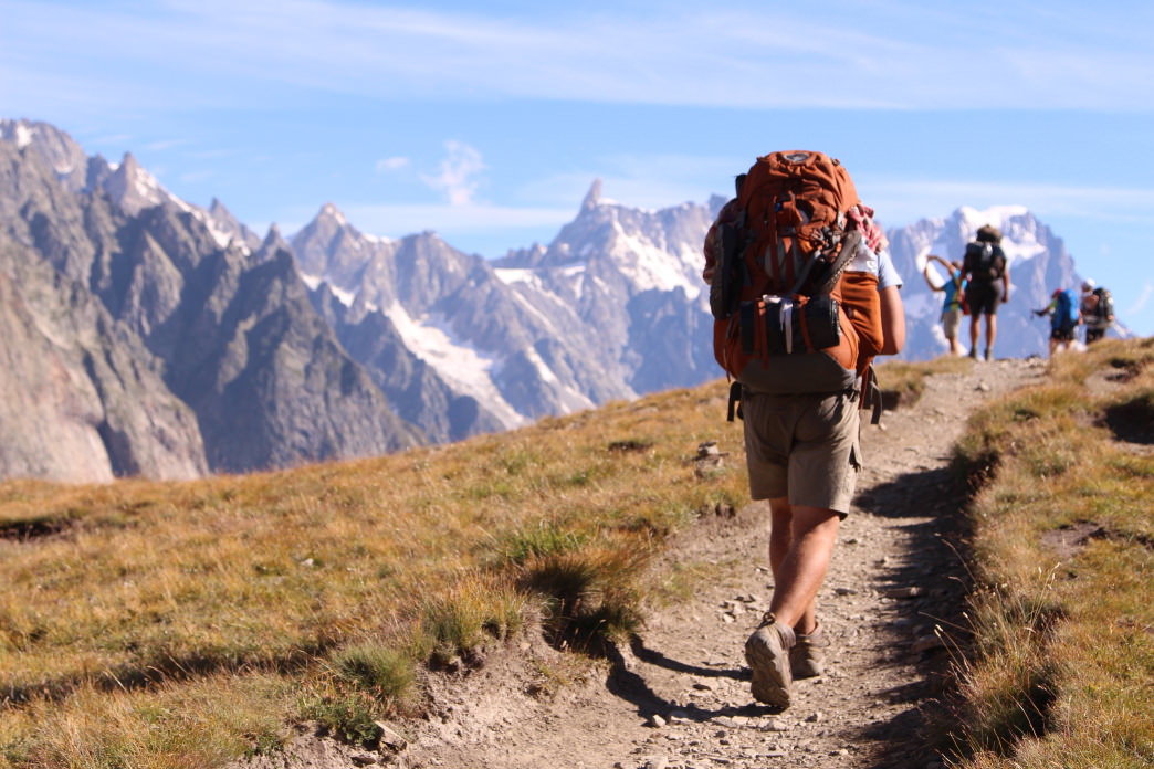 Backpacking the Tour de Mont Blanc.      Matt Guenther