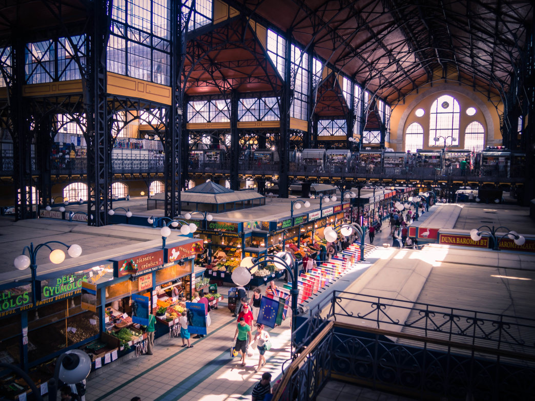 Budapest's Great Market Hall is 10,000 square feet of foodie paradise.