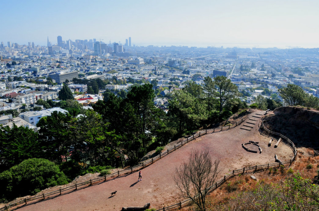Many cities have urban trails perfect for convenient exploration, like this one in San Francisco.
