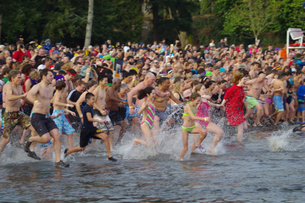 Polar bear plunges are gaining popularity around the country.
