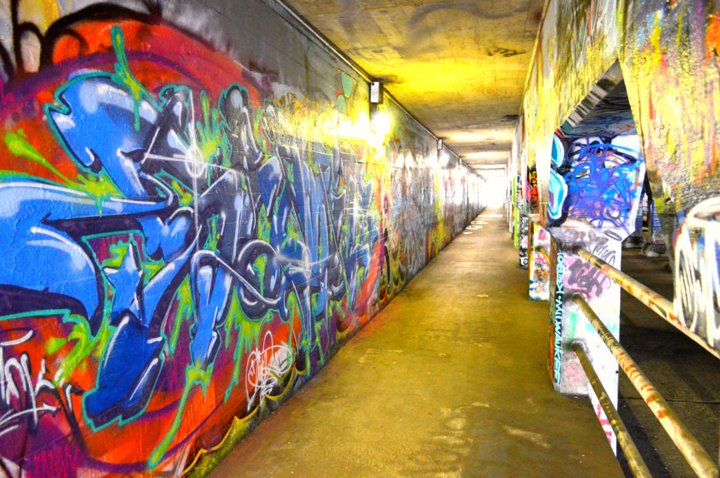 The Krog Street Tunnel is an ever-changing display created by local artists.