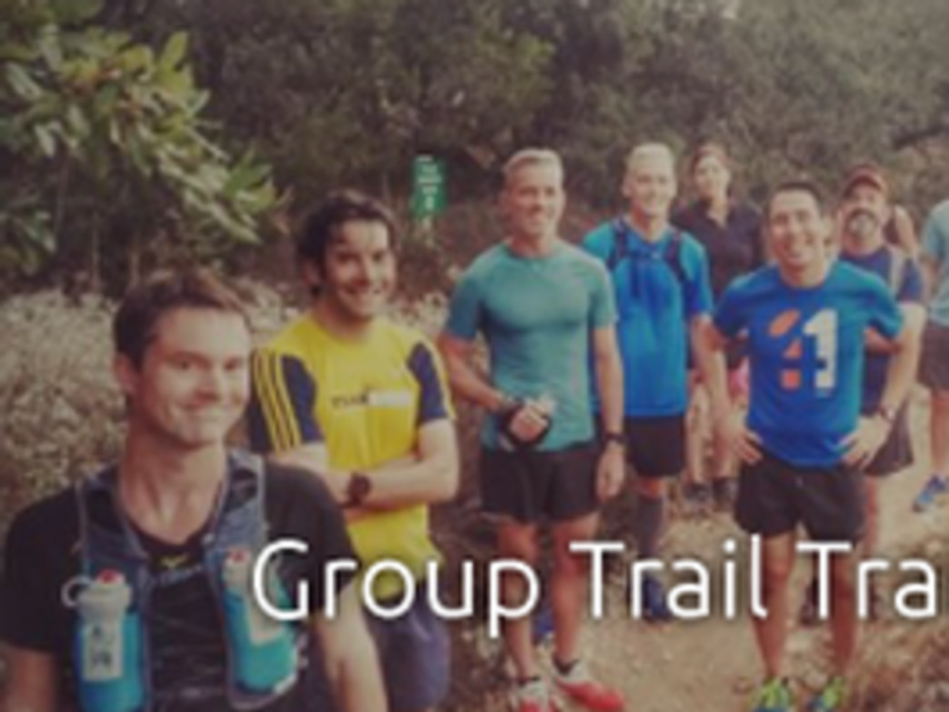 One of Trail Roots Saturday morning group runs