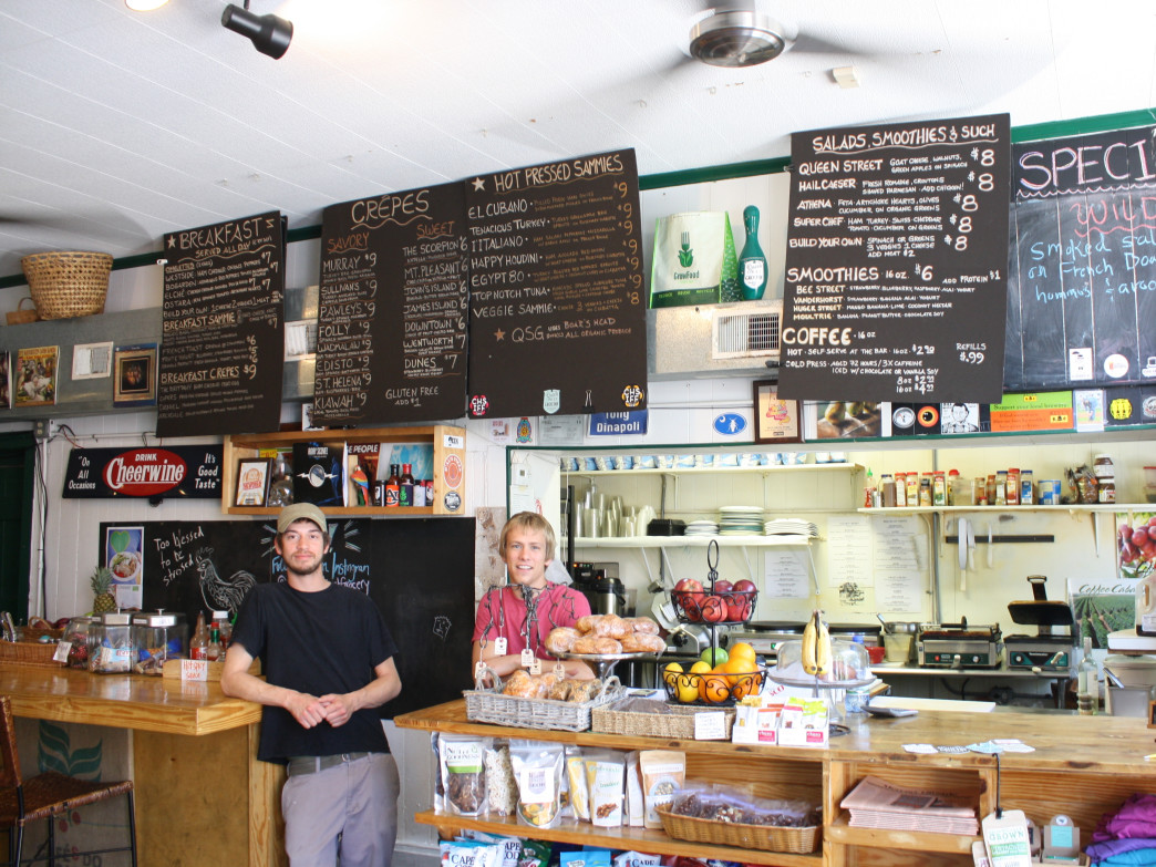 A day in the life at Queen Street Grocery, Stop by for Charleston's best crepes.