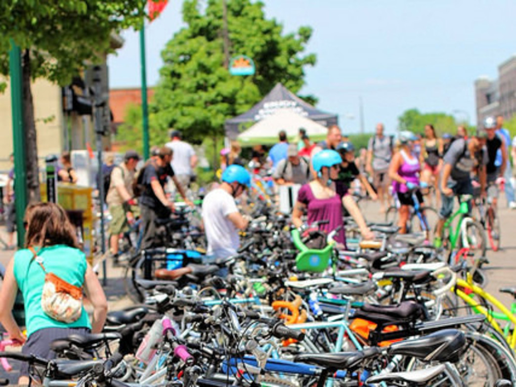 The Minneapolis Bicycle Coalition has had great success with events that shut down roads to traffic for a day.