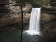 Greeter Falls overlook at Savage Gulf State Natural Area