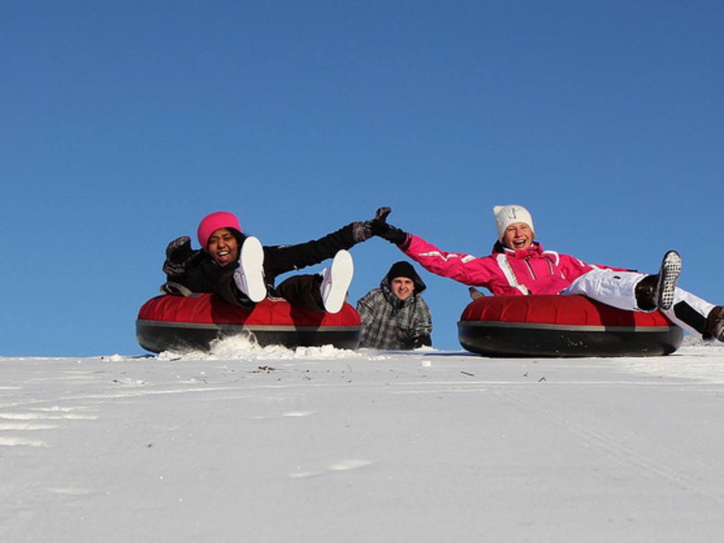 Head to Blue Mountain for a fun night of snow tubing on New Year's Eve.