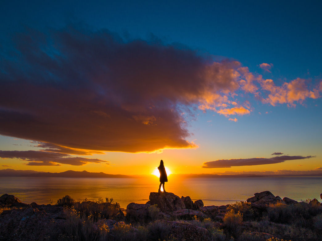 With the Great Salt Lake to the west, Davis County, Utah, is filled with many memorable sports to watch the sunset.
