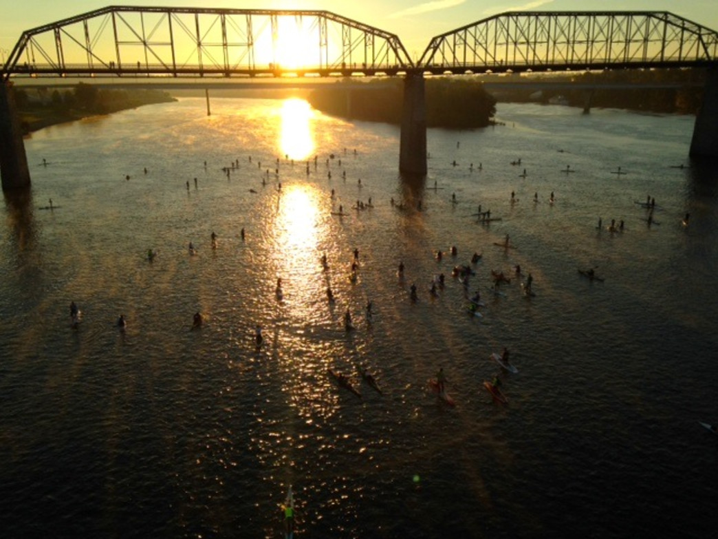 Paddlers at the 2014 ChattaJack31