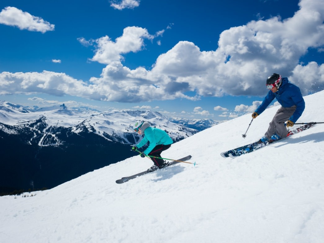 It's hard to top a bluebird day at Whistler Blackcomb.