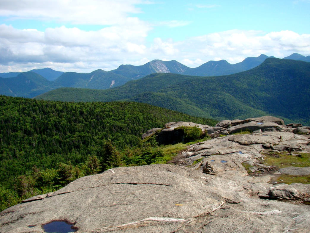 The view from Cascade Peak in the Adirondacks