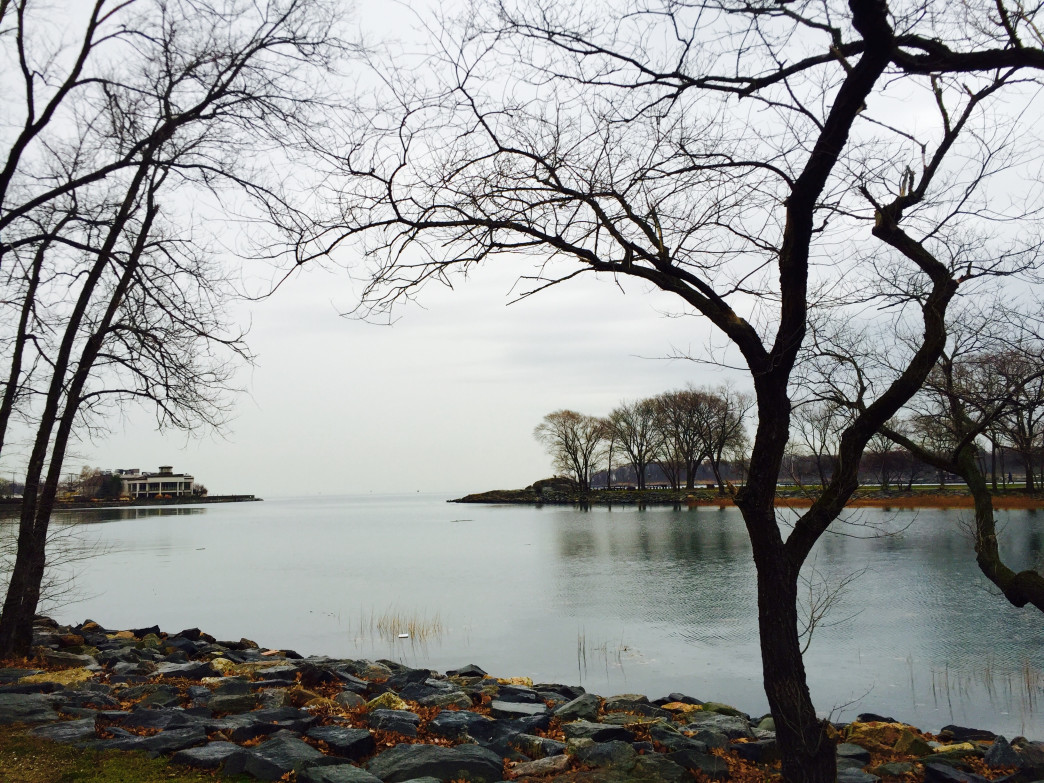 Glen Island Park in New York overlooking the Long Island sound