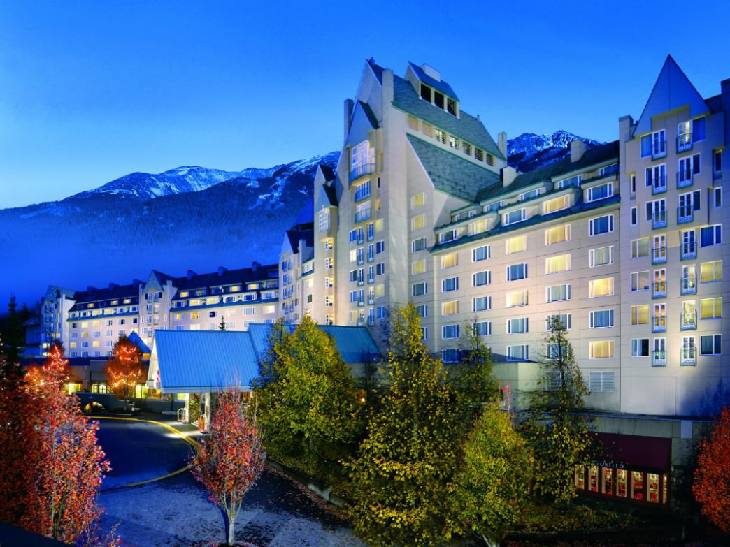 The Fairmont Chateau Whistler is one of the most luxe lodgings in town.