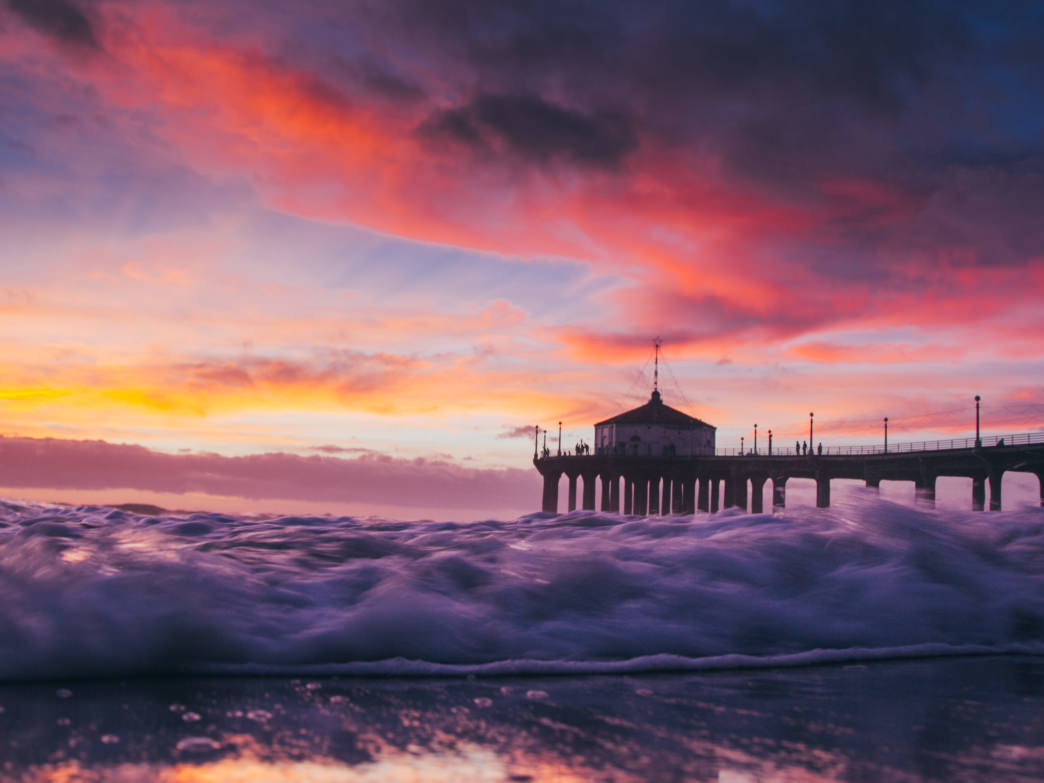 Manhattan Beach Pier.